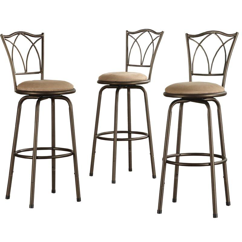 Three Posts Cayman 26 Counter Stool Reviews: Three Posts Frankfort Adjustable Swivel Bar Stool