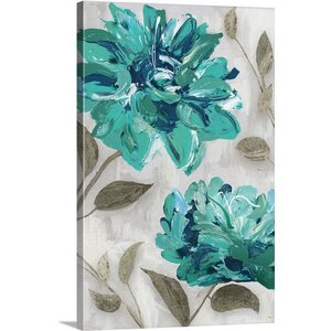 'Blooms I' by Edward Selkirk Painting Print on Canvas by Great Big Canvas
