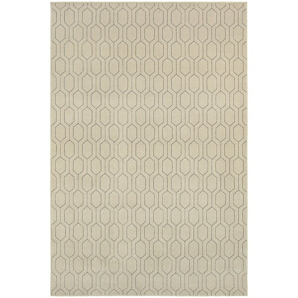 Oren Ivory/Gray Area Rug by Langley Street