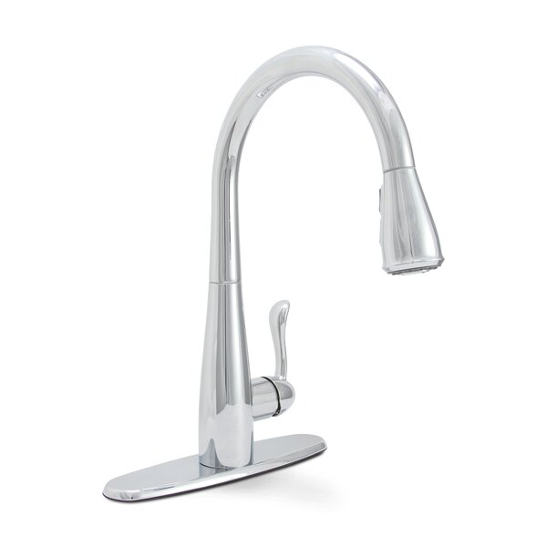 Sanibel Pull Down Single-Handle Kitchen Faucet with Spray by Premier Faucet