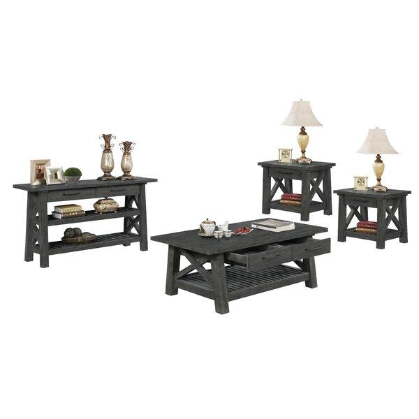 Hendrick 4 Piece Coffee Table Set by Gracie Oaks Gracie Oaks