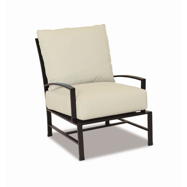 La Jolla Club Patio Chair with Sunbrella Cushions by Sunset West Sunset West
