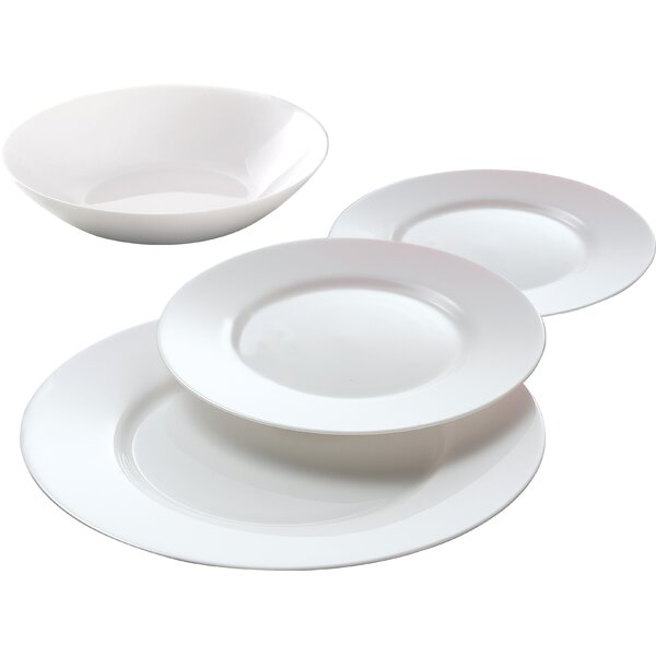 Everyday 12 Piece Dinnerware Set, Service for 4 by Luminarc