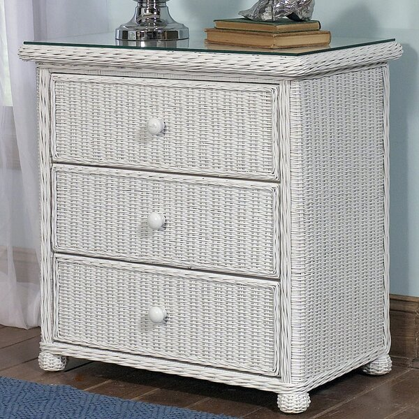 Watkins 3 Drawer Chest by Bay Isle Home