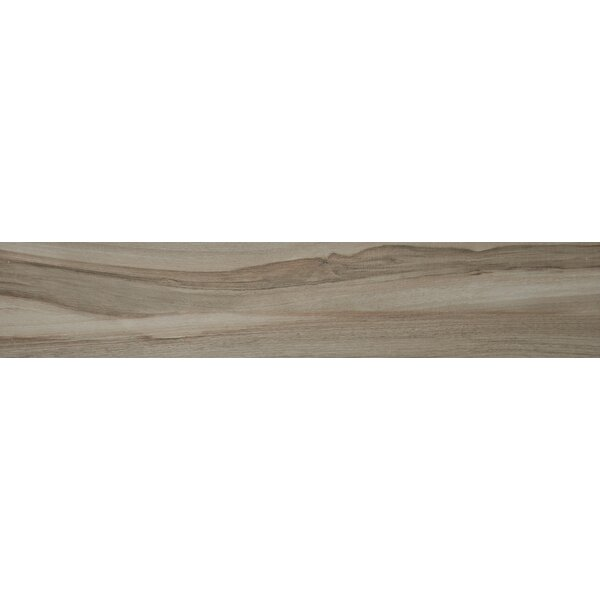 Aspenwood 9 x 48 Porcelain Wood Tile in Ash by MSI
