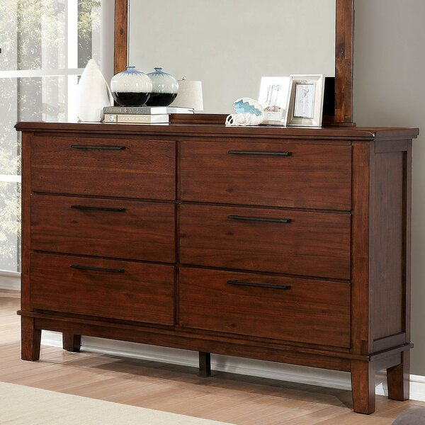 Nathaly 6 Drawer Double Dresser by Red Barrel Studio