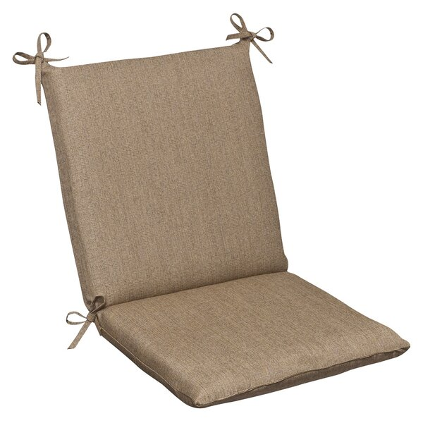Indoor/Outdoor Sunbrella Dining Chair Cushion by Pillow Perfect