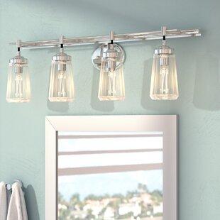 Savings Buzard 4-Light Vanity Light By Mercury Row