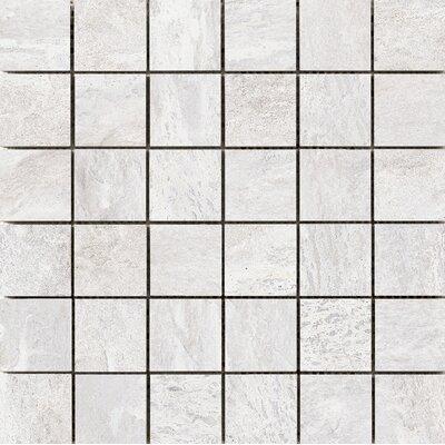Milestone 2 X Porcelain Mosaic Tile In White