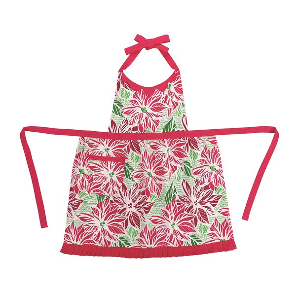 Poinsetta Apron by Peking Handicraft