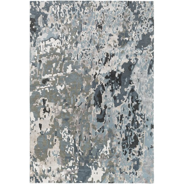 Bovill Gray Area Rug by Bungalow Rose