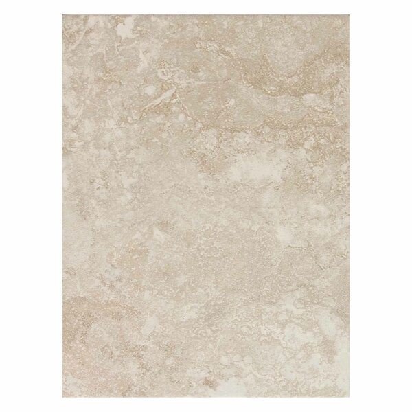 Huston 9 x 12 Ceramic Field Tile in Serene White by Itona Tile