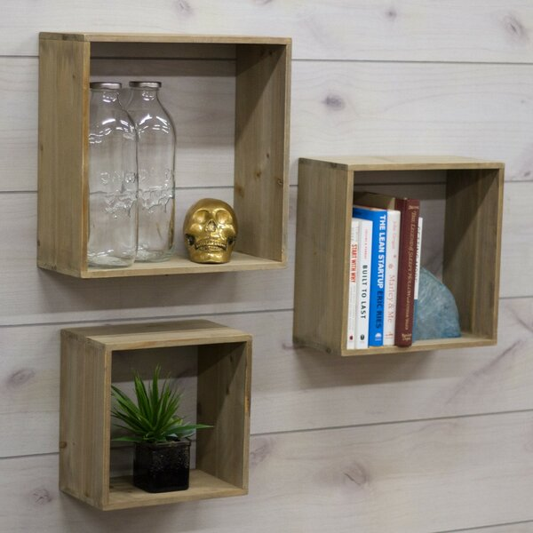 Shadow Cube Unit Bookcase by Crates & Pallet