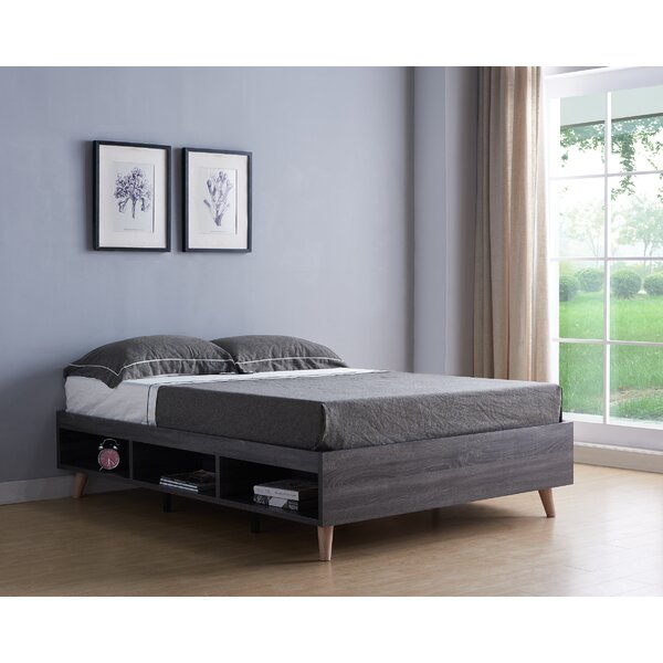 Janney Queen Storage Platform Bed by Brayden Studio