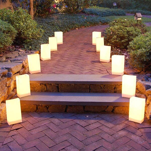 12 Count Battery Operated Luminary Kit by Luminarias