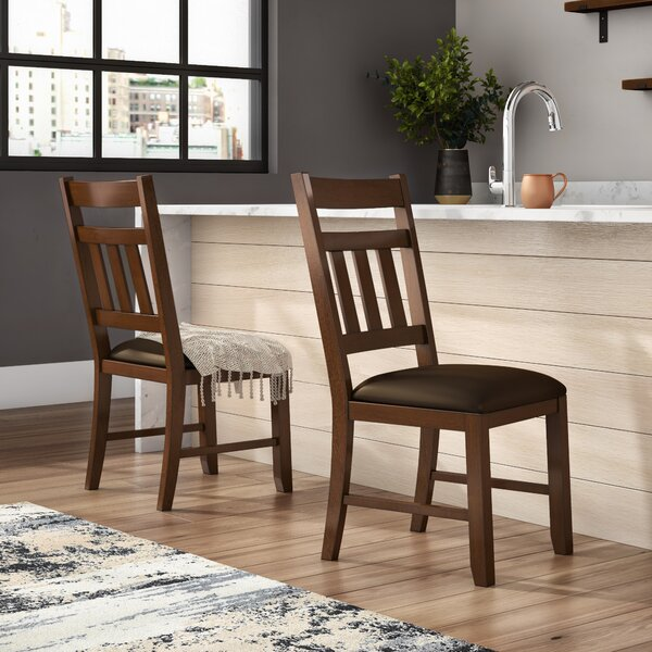 Caracara Slatback Upholstered Side Chair (Set of 2) by Trent Austin Design