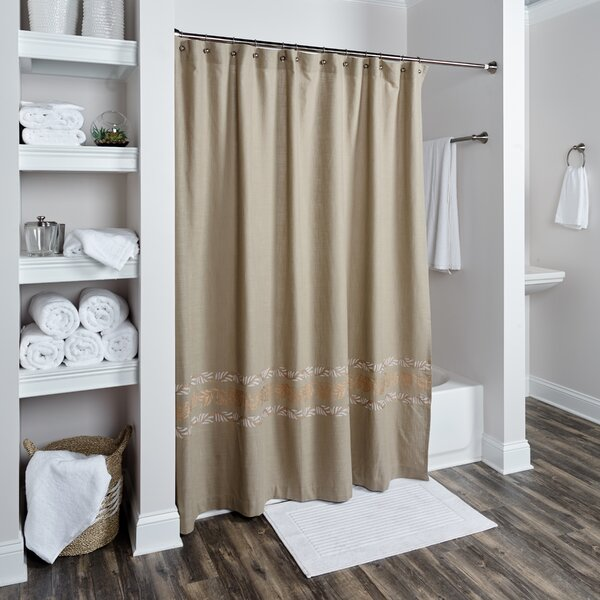 Logan Cotton Shower Curtain by Darby Home Co