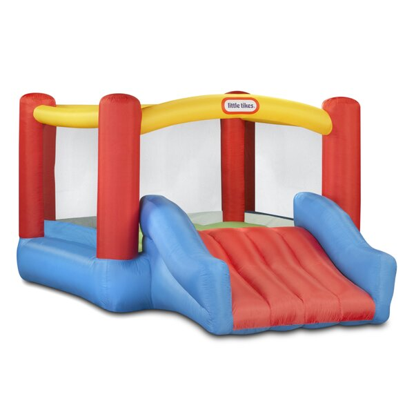 Jr. Jump N Slide Bounce House by Little Tikes