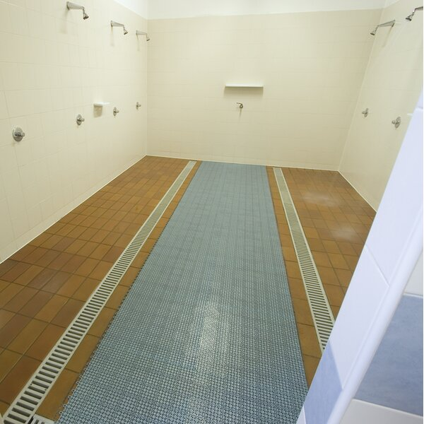 Interlocking Floor System Plastic Tile (Set of 4) by Riverstone Industries