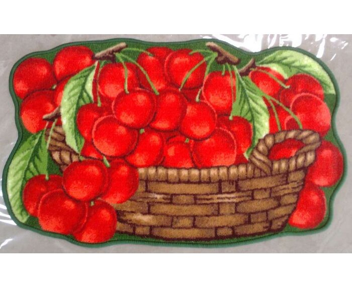 Skillern Yummy Cherries Kitchen Mat