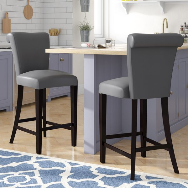 Crabb 24 Bar Stool (Set of 2) by Red Barrel Studio