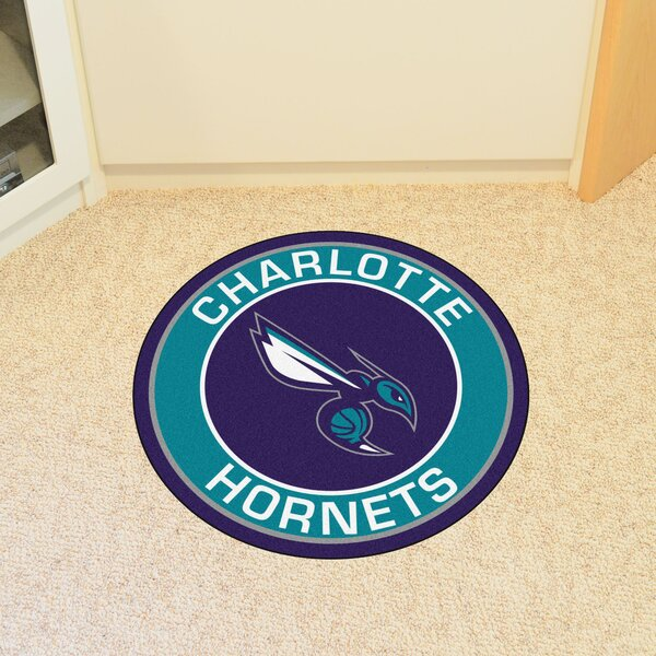 NBA Charlotte Hornets Roundel Mat by FANMATS