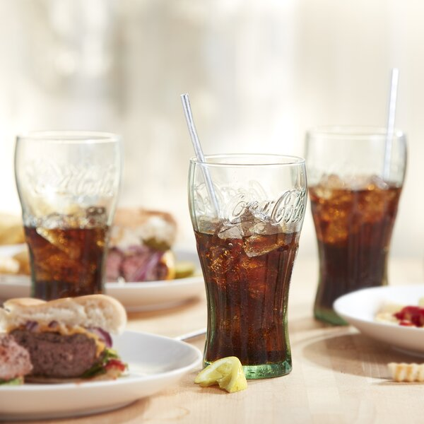 Coke Genuine 16.75 oz. Every Day Glass (Set of 6) by Libbey