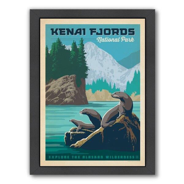 Kenai Fjords National Park Framed Vintage Advertisement by East Urban Home