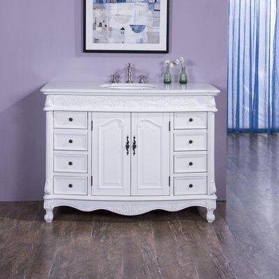 Virtu USA Norhaven Single Bathroom Vanity Set With Mirror - Bathroom vanities ocala fl