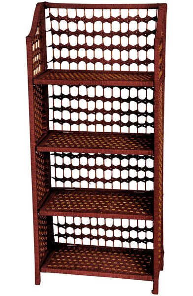 Simoneau Standard Bookcase by World Menagerie