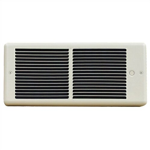 Register 6,826 BTU Wall Insert Electric Fan Heater with Wall Box by TPI