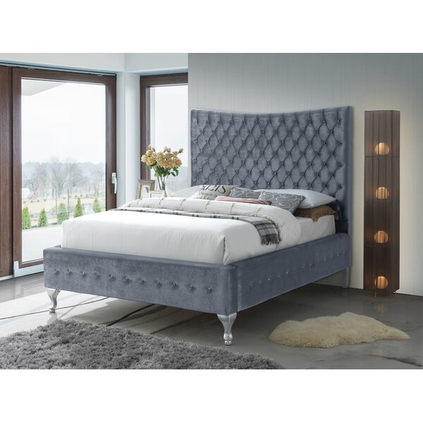 Kellems Upholstered Standard Bed by Everly Quinn