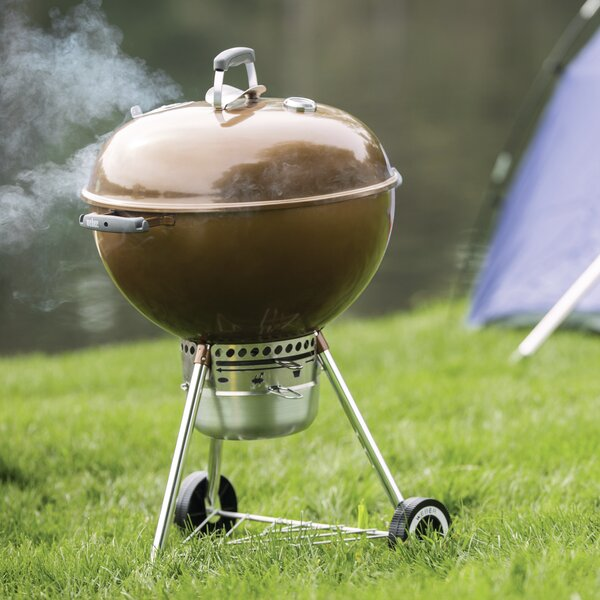 22 Original Kettle Premium Charcoal Grill by Weber