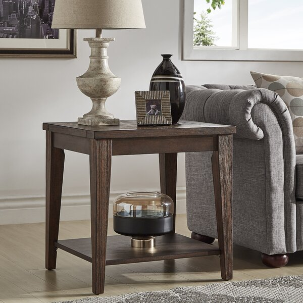 Pelton End Table by Loon Peak