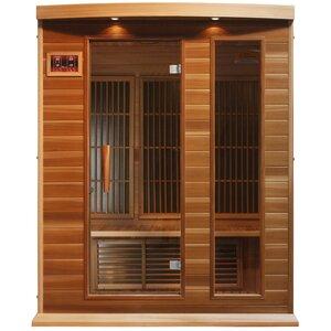 Luxury Series 3 Person FAR Infrared Sauna