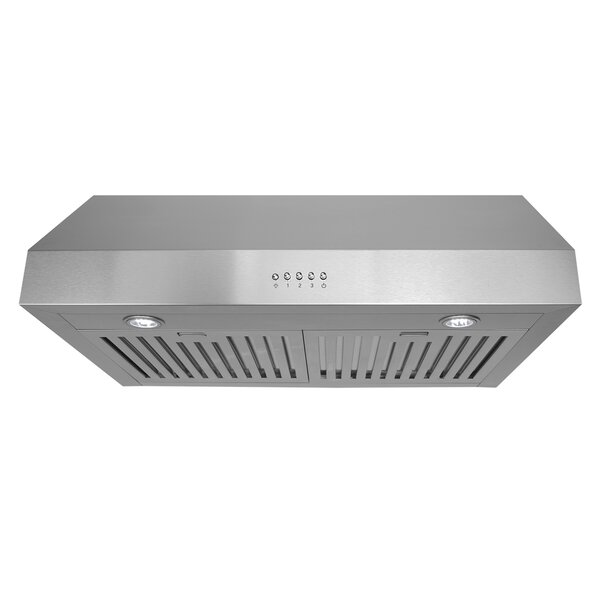 30 760 CFM Ducted Under Cabinet Range Hood by Cosmo