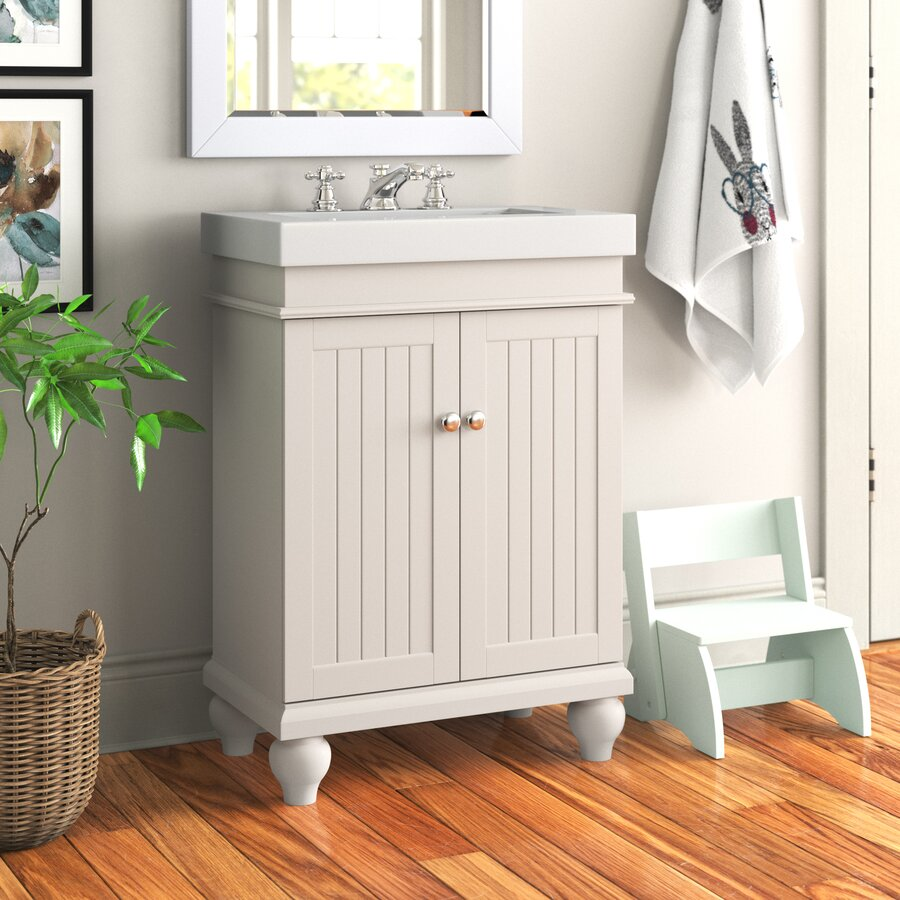 "Wemoorland 24"" Single Bathroom Vanity Set"
