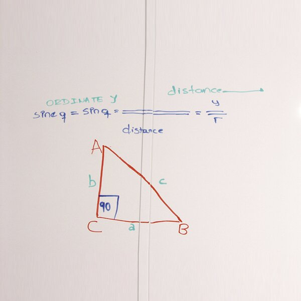 Self-Adhesive Skins Wall Mounted Whiteboard by Best-Rite®