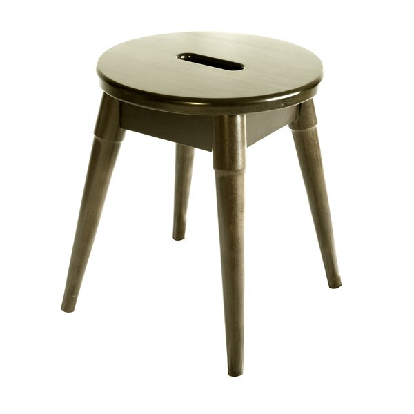 Ardell Round Accent Stool by Ebern Designs