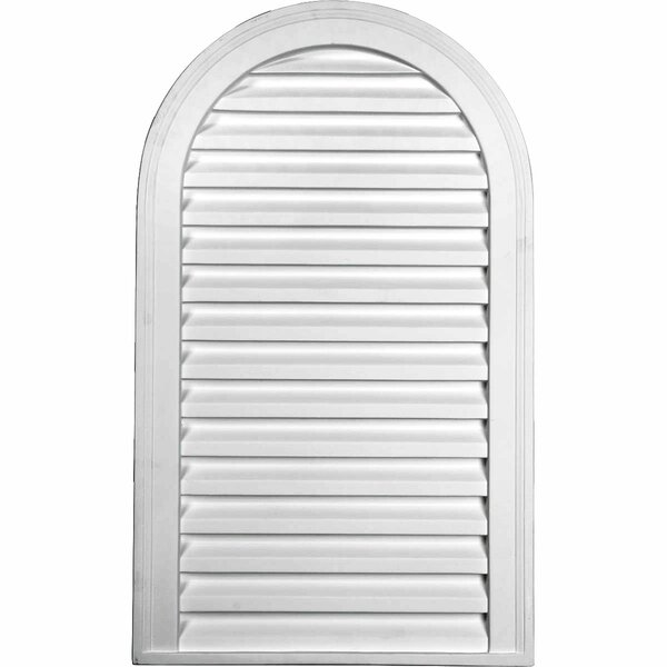 Cathedral 26H x 18W Gable Vent Louver by Ekena Millwork