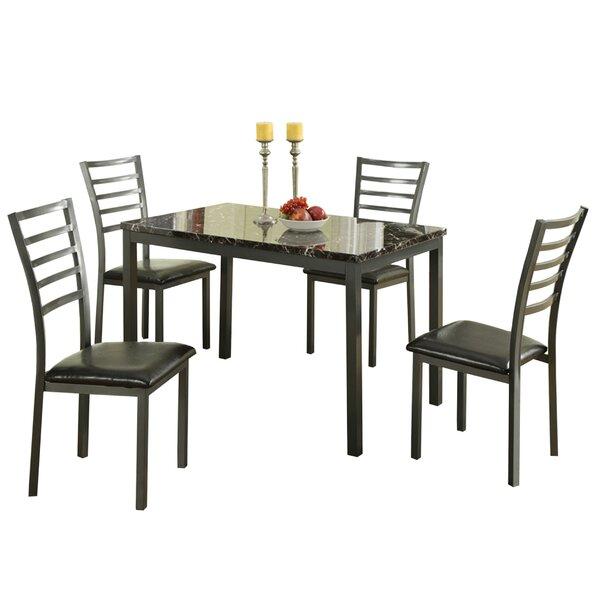 Chism Modish Feast 5 Piece Dining Set by Ebern Designs Ebern Designs
