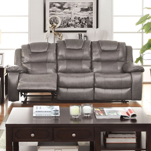 Shop Special Prices In Harrison Reclining Sofa by Hokku Designs by Hokku Designs