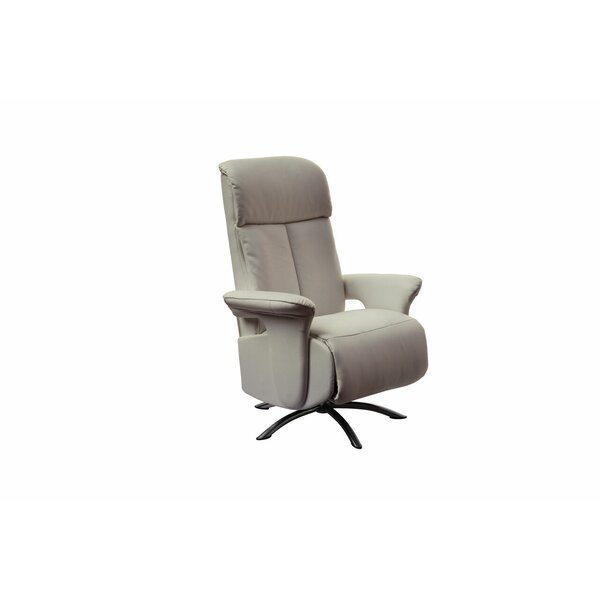 Mcclaran Leather Manual Recliner by Orren Ellis