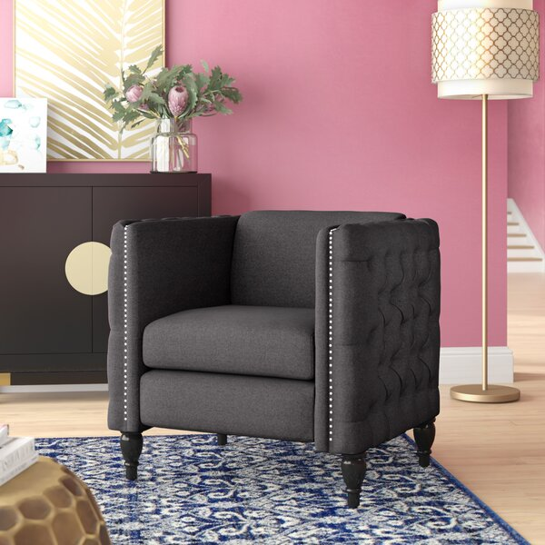 Mcnealy Modern Tufted Armchair by House of Hampton
