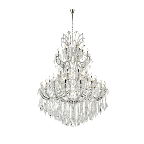 Regina 61 - Light Candle Style Tiered Chandelier by House of Hampton House of Hampton