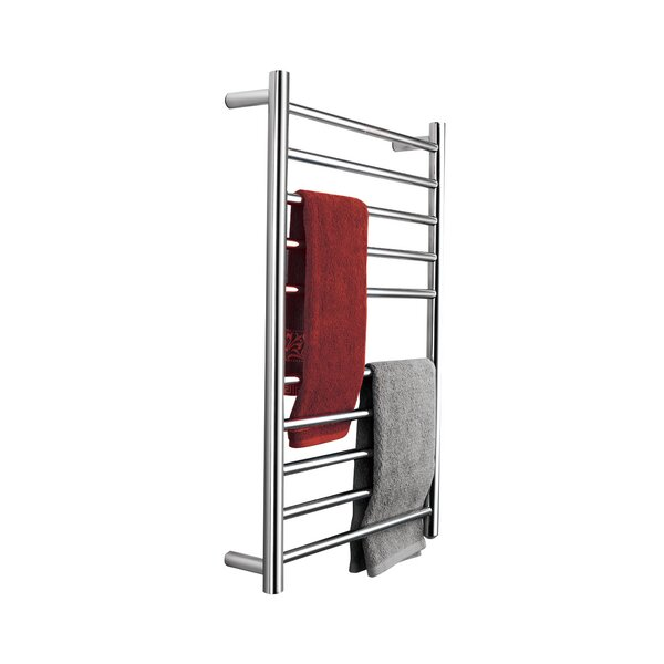 Stainless Steel Wall Mounted Electric Towel Warmer by Pursonic