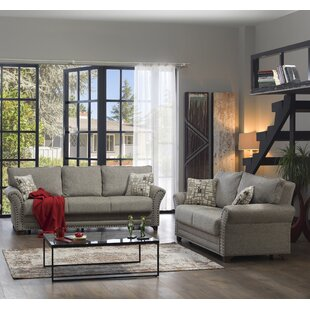 Adalberto 2 Piece Sleeper Living Room Set by Winston Porter