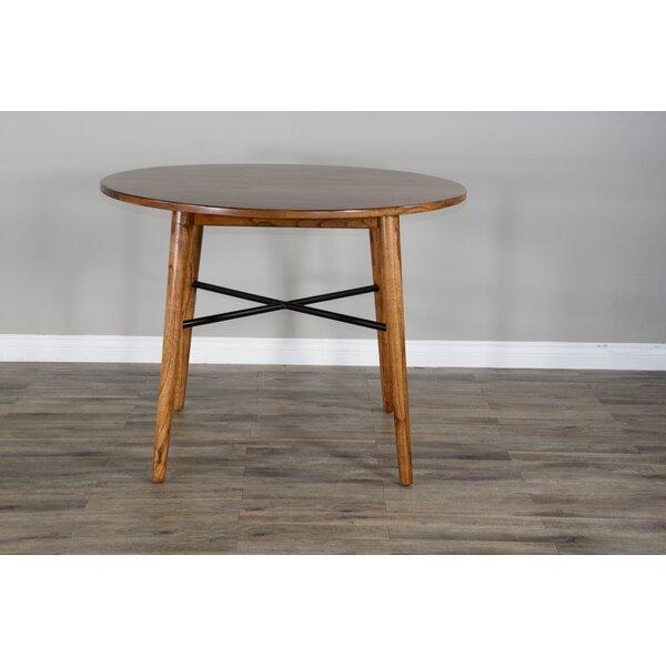 Speck Round Counter Height Pub Table by Brayden Studio