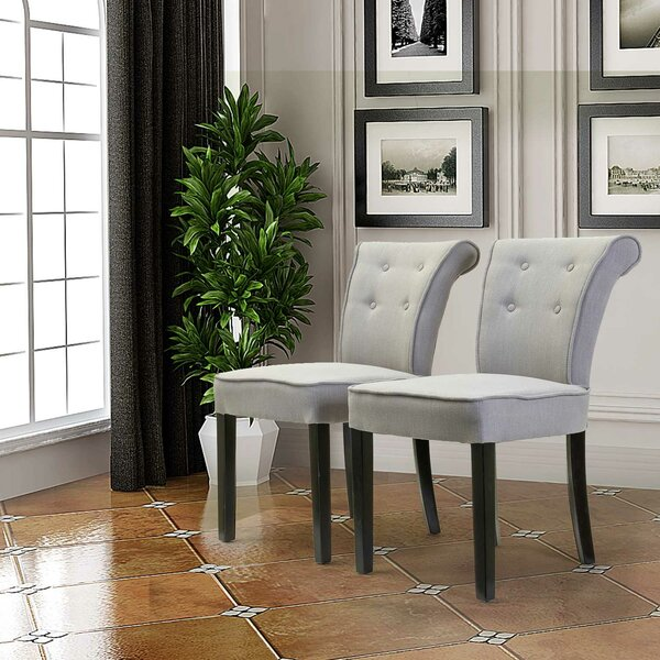 Blouin Upholstered Dining Chair (Set of 2) by Charlton Home