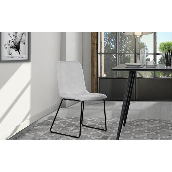 Gibb Tufted Upholstered Dining Chair (Set of 2) by Wrought Studio